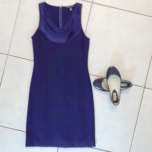 Banana Republic Navy Blue Classic Dress